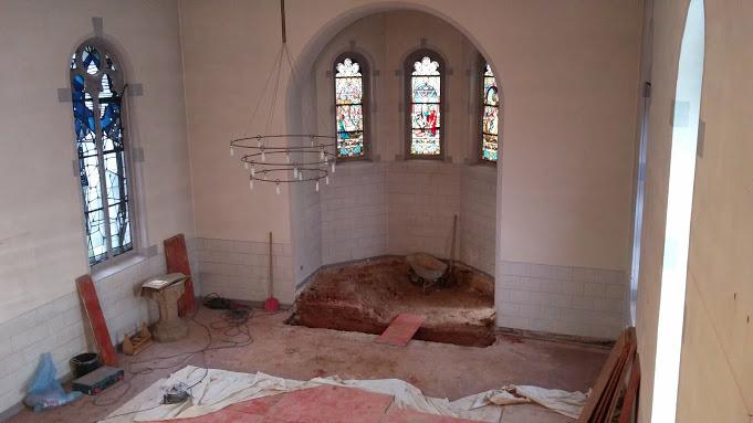 ...oder doch Suche nach dem Kirchenschatz?